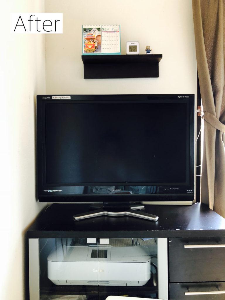 テレビ台アフター画像
